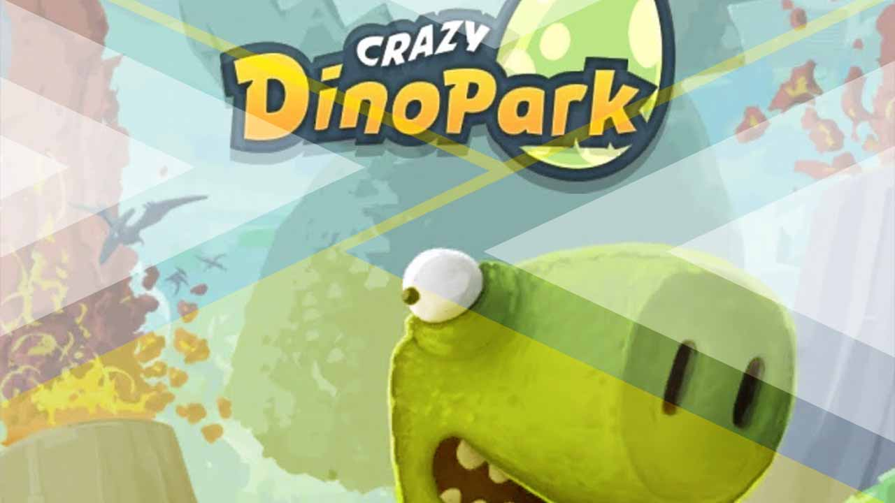 crazy dino park review cover
