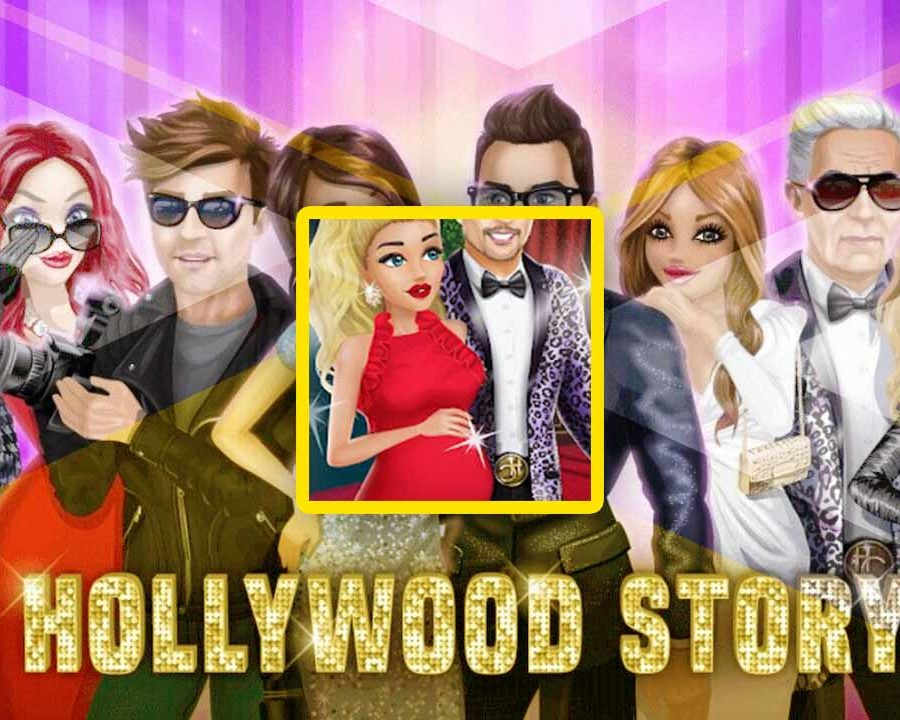 cover image for hollywood story