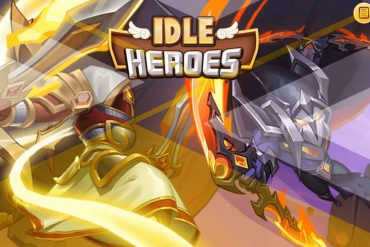 idle heroes game cover