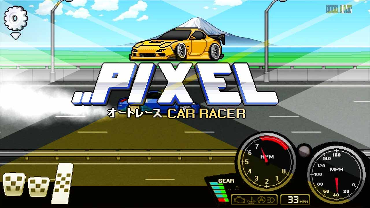 pixel car racer game review cover