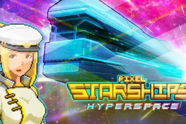 pixel starships game review cover