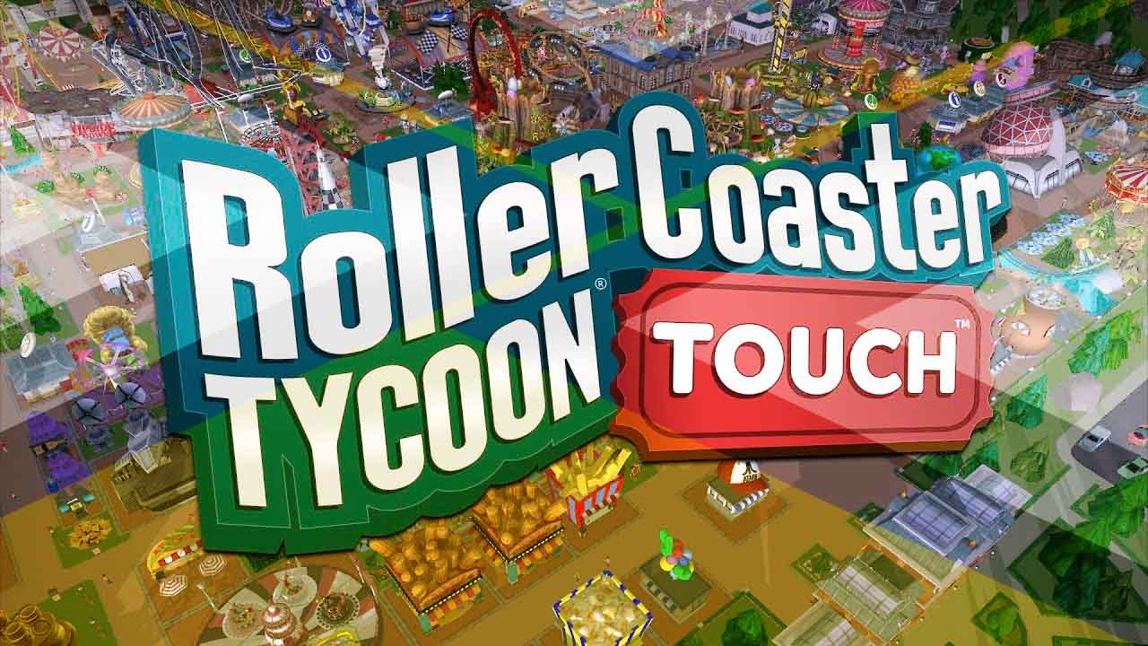 cover image for rollercoaster tycoon touch game review