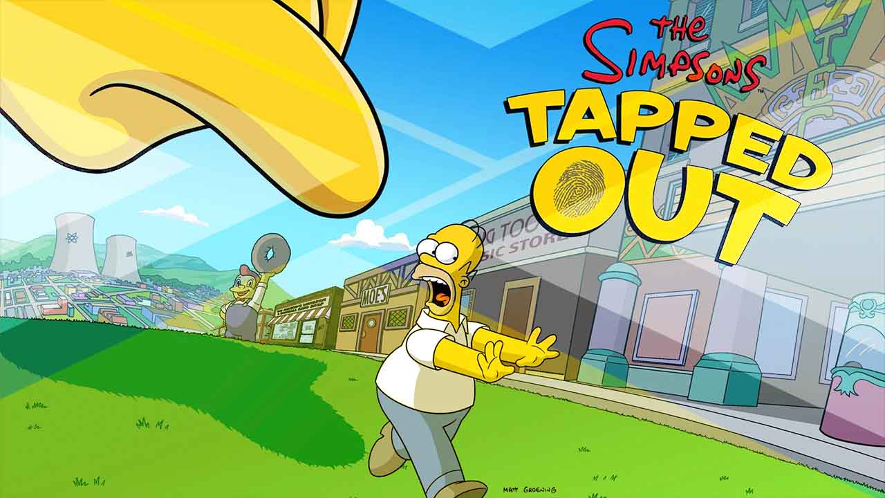review for the simpsons tapped out game