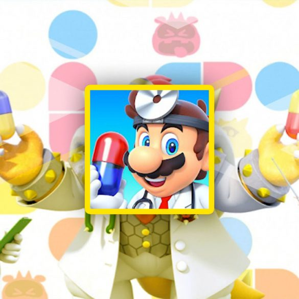 cover for dr mario world