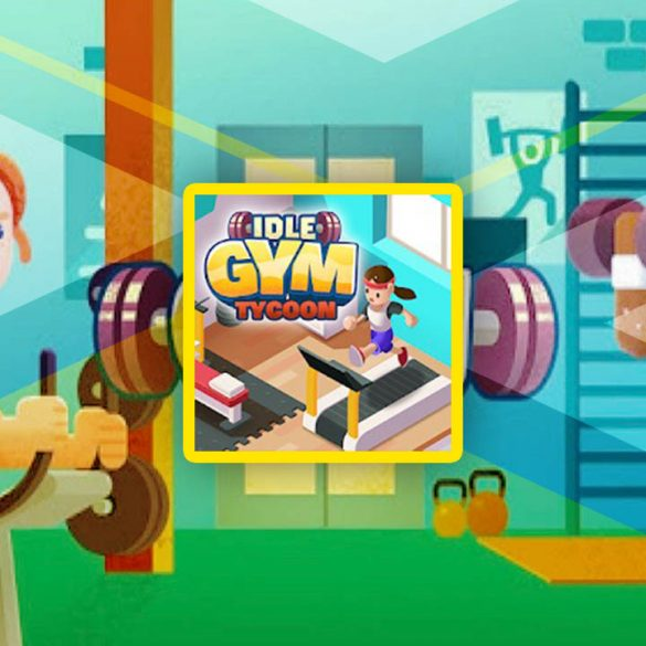 cover image for idle fitness gym tycoon game